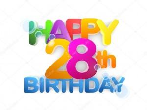 28歳誕生日