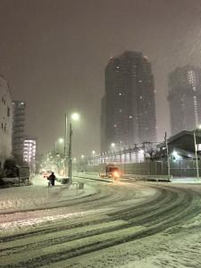 東京雪景色2018-2